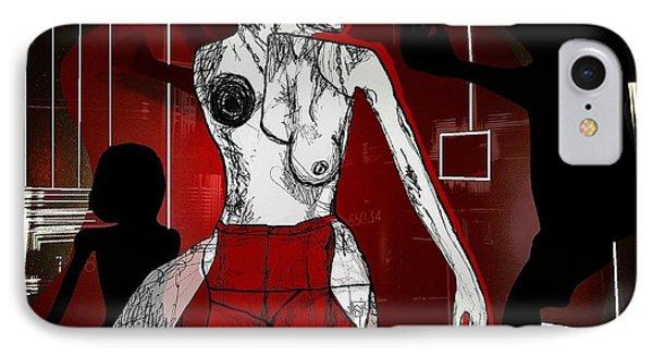 Showgirl Phone Case by Franziska Kolbe