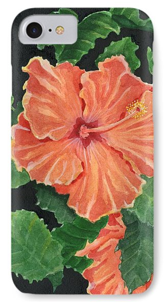 Showy Hibiscus IPhone Case