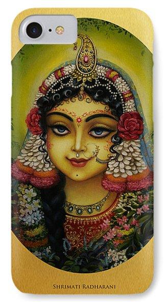 Shrimati Radharani Phone Case by Vrindavan Das