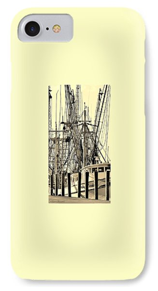 IPhone Case featuring the photograph Shrimp Boat by Debra Forand