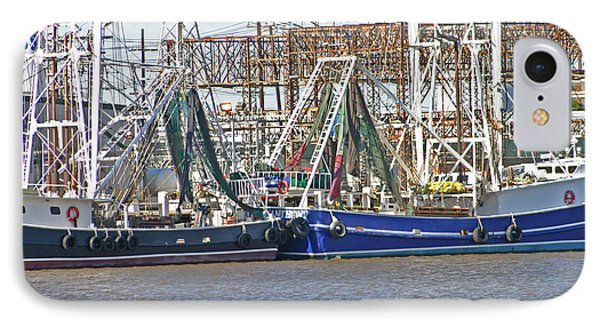 Shrimp Boats 1 Port Arthur Texas IPhone Case