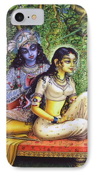 Shringar Lila IPhone Case