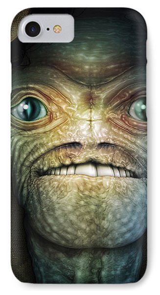 Shrouded Alien IPhone Case