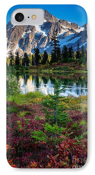 Shuksan Autumn IPhone Case by Inge Johnsson