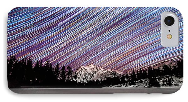Shuksan Past Midnight IPhone Case by Ryan McGinnis