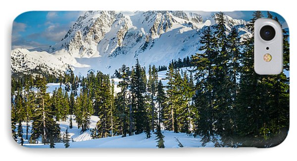 Shuksan Winter Paradise IPhone Case