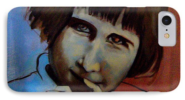 IPhone Case featuring the painting Shy by Irena Mohr