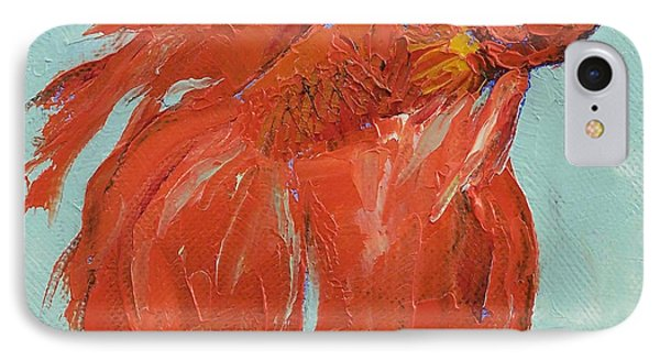 Siamese Fighting Fish IPhone Case by Michael Creese