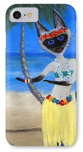 Siamese Queen Of Hawaii IPhone Case
