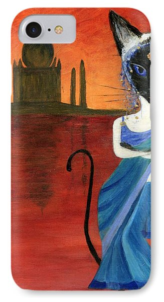 Siamese Queen Of India Phone Case by Jamie Frier