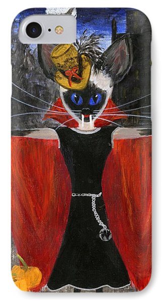 Siamese Queen Of Transylvania Phone Case by Jamie Frier