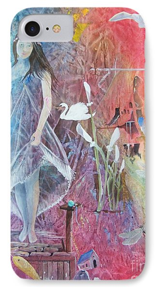 IPhone Case featuring the painting Sian Nia by Jackie Mueller-Jones