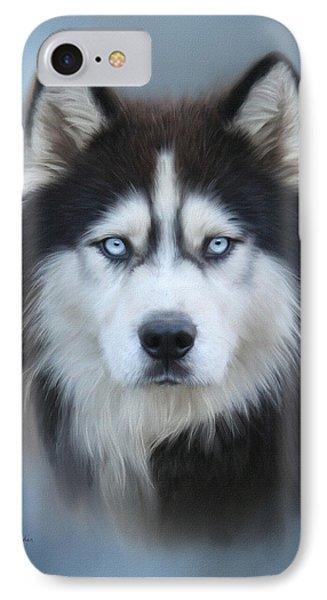 Siberian Husky Phone Case by Lena Auxier