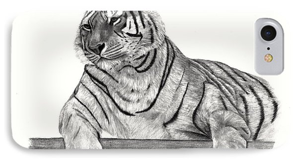 Siberian Tiger IPhone Case by Patricia Hiltz