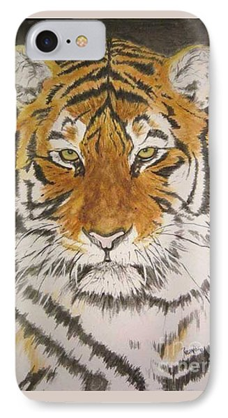 Siberian Tiger Phone Case by Regan J Smith