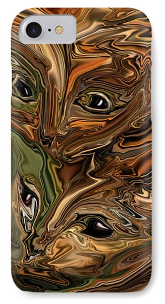 Sibling  IPhone Case by Rabi Khan