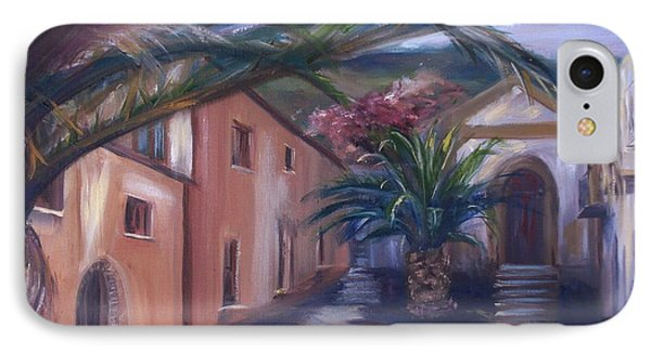 IPhone Case featuring the painting Sicilian Nunnery II by Donna Tuten
