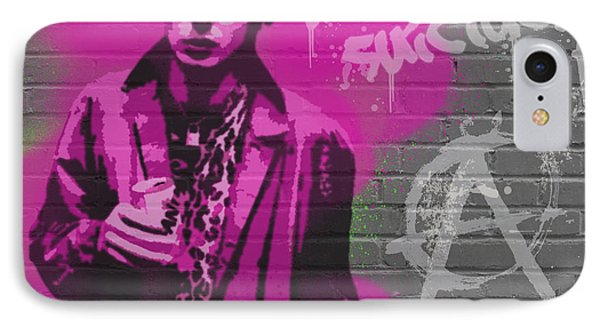 Sid Vicious Phone Case by Paul Green