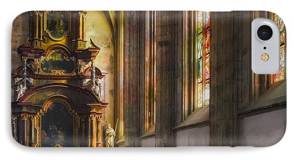 Side Chapel Of St Barbara IPhone Case