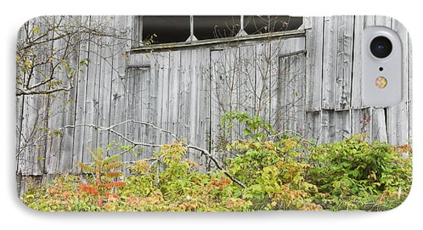 Side Of Barn In Fall IPhone Case by Keith Webber Jr