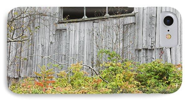 Side Of Barn In Fall Phone Case by Keith Webber Jr