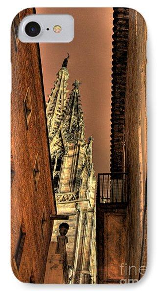 IPhone Case featuring the photograph Side Of Gaudi by Erhan OZBIYIK