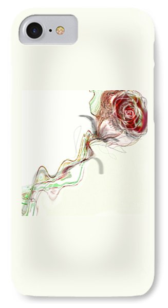 Side Rose IPhone Case by Gabrielle Schertz