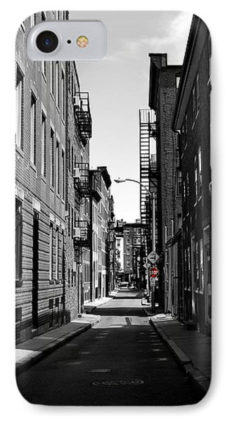 IPhone Case featuring the photograph Side Street On The North End by Nadalyn Larsen