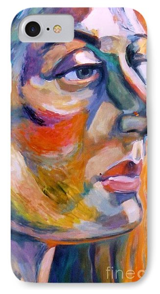 Sideview Of A Woman IPhone Case by Stan Esson