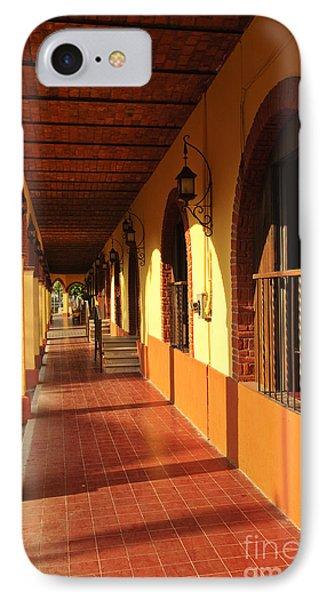 Sidewalk In Tlaquepaque District Of Guadalajara Phone Case by Elena Elisseeva