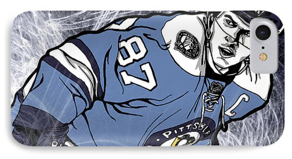 Sidney Crosby Phone Case by Nate Gandt