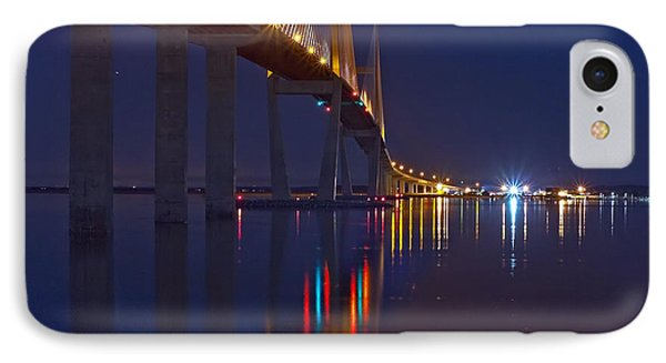 Sidney Lanier At Night IPhone Case by Farol Tomson