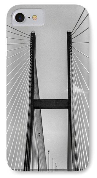 Sidney Lanier Bridge IPhone Case by Ginger Wakem