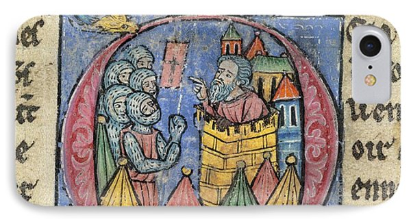 Siege Of Nicaea IPhone Case by British Library