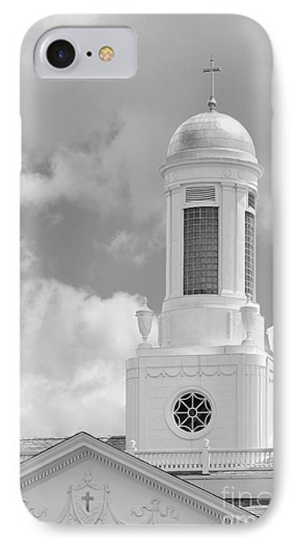 Siena College Siena Hall Cupola Phone Case by University Icons