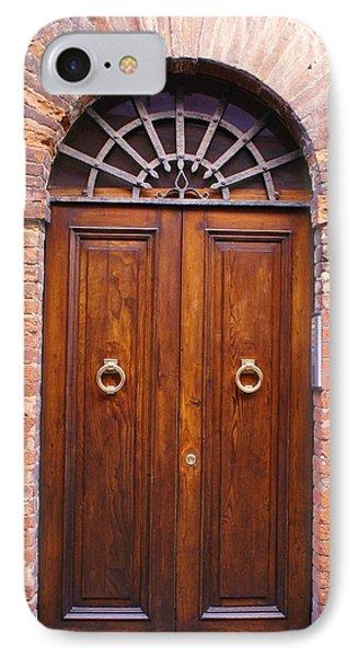 Sienna Door Phone Case by Barbara Stellwagen