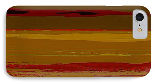 IPhone Case featuring the digital art Sienna Vista by Anthony Fishburne