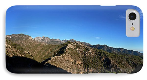 Sierra De Enmedia Mountains,north East IPhone Case