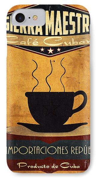 Sierra Maestra Cuban Coffee Phone Case by Cinema Photography