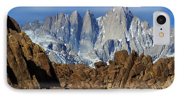 Sierra Nevada California Phone Case by Bob Christopher