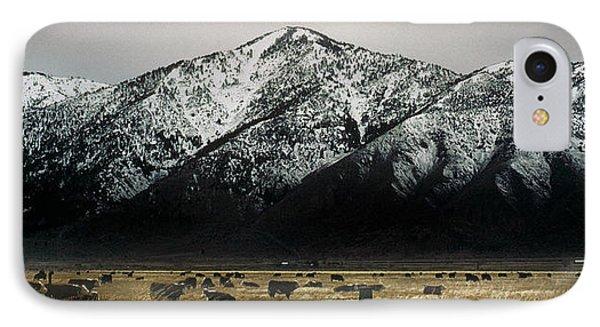 Sierra Nevada Mountains Near Lake Tahoe IPhone Case