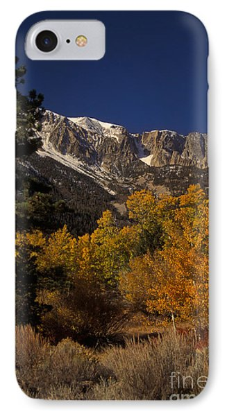 Sierra Nevadas In Autumn Phone Case by Ron Sanford