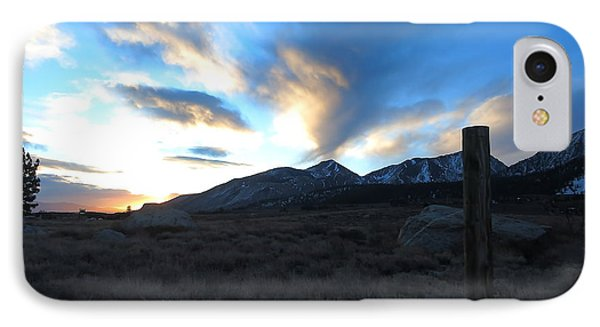 IPhone Case featuring the photograph Sierra Sunrise by Paul Foutz