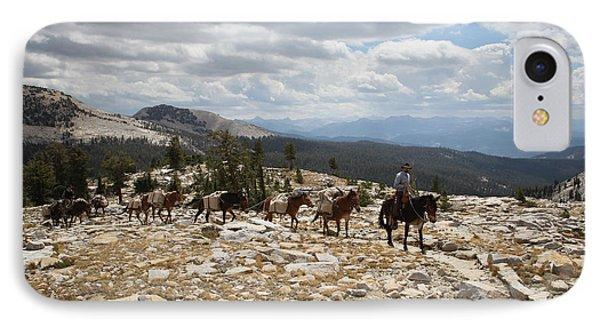 Sierra Trail IPhone Case by Diane Bohna