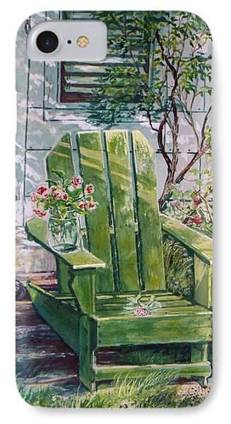 IPhone Case featuring the painting Siesta by Joy Nichols
