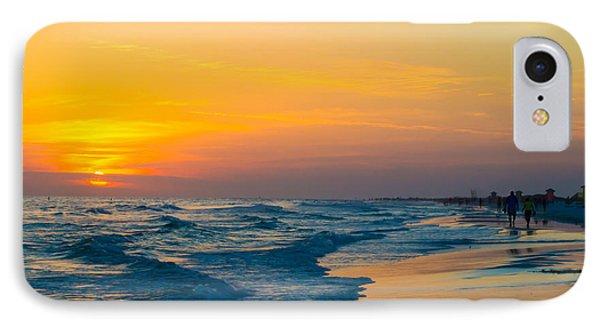 Siesta Key Sunset Walk IPhone Case