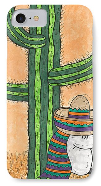 Siesta Saguaro Cactus Time IPhone Case