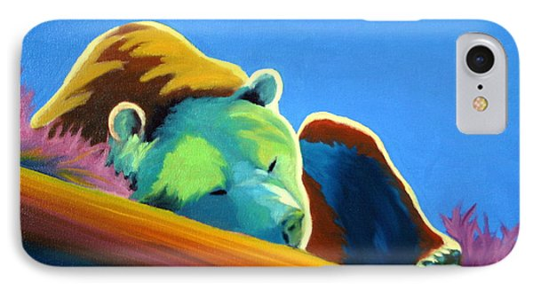 IPhone Case featuring the painting Siesta Time by Nancy Jolley