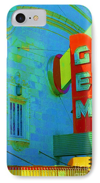 Sign - Gem Theater - Jazz District  IPhone Case