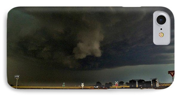 IPhone Case featuring the photograph Signs Of A Supercell by Ed Sweeney